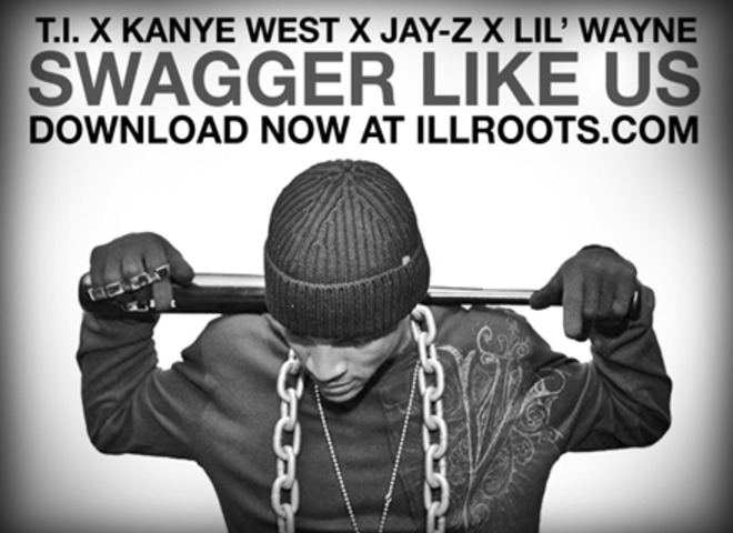 swagger like us Swagga like us  is a song by american hip hop recording artists jay-z , ti , kanye west , and lil wayne  it was released on september 6, 2008 in the united.